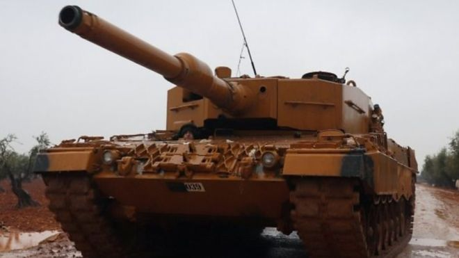 """بدأت القوات التركية """"عملية غصن الزيتون"""" في يناير/ كانون الثاني على عفرين وسط حسابات معقدة للتحالفات في المنطقة"""