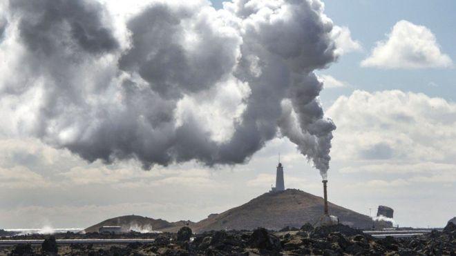نحو 100 في المئة من الطاقة المستخدمة في أيسلندا تأتي من مصادر متجددة