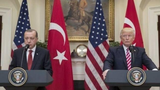 ترامب وأردوغان تعهدا بتعزيز التعاون بين بلديهما رغم الخلافات
