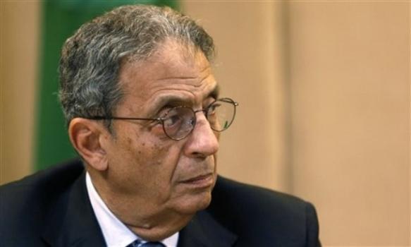 عمرو موسى، مؤسس حزب المؤتمر