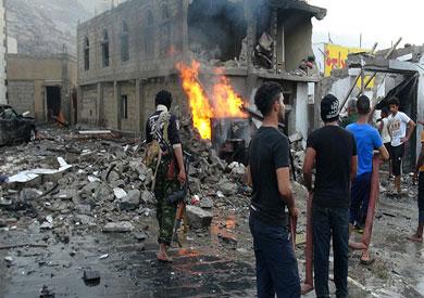 """احداث اليمن """"ارشيفية"""""""