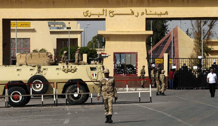 معبر رفح بين مصر وقطاع غزة - أرشيفية