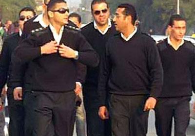 أفراد الشرطة فى بورسعيد