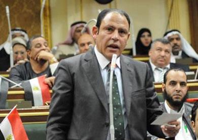 عضو مجلس النواب عن دائرة مركز ملوي بالمنيا رياض عبد الستار