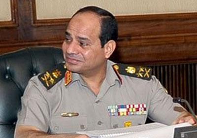 وزير الدفاع الفريق أول عبدالفتاح السيسي