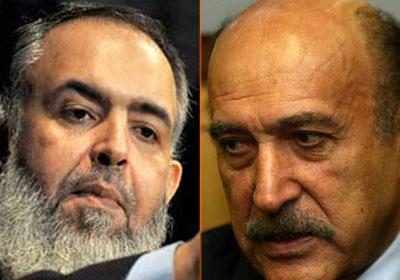 سليمان وأبو إسماعيل.. خارج سباق الرئاسة