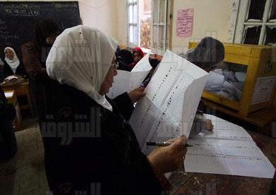 انتخبات المجلس تنتظر تقسيم الدوائر الانتخابية لاجرائها-تصوير مجدي ابراهيم
