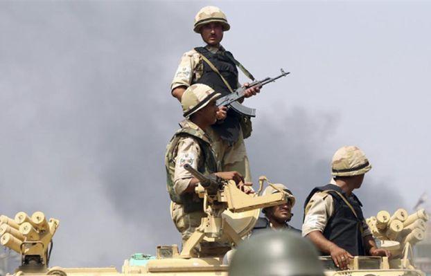 لقطات حية لعمليات القوات المسلحة في وسط وشمال سيناء