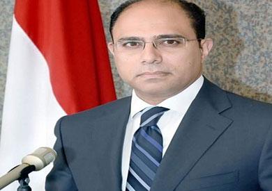 المتحدث الرسمي باسم وزارة الخارجية المستشار أحمد أبو زيد