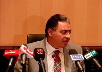 أحمد عماد راضي وزير الصحة