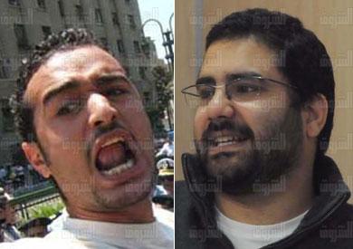 علاء عبدالفتاح وأحمد دومة