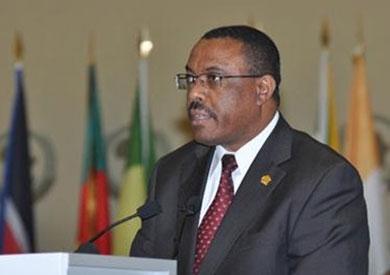 رئيس وزراء إثيوبيا ماريام ديسالين والرئيس عبد الفتاح السيسي