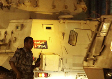 انتشار لقوات الجيش بشمال سيناء