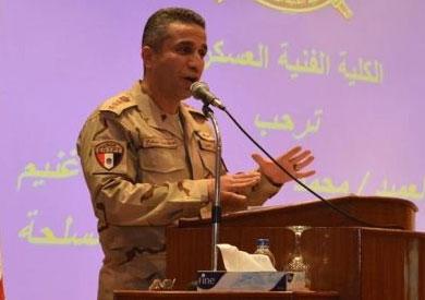 المتحدث العسكري الرسمي العميد محمط سمير