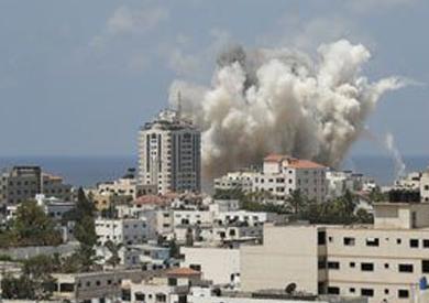 القصف على غزة – ارشيفية