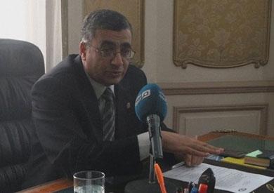 الدكتور علي حجازي، رئيس الهيئة العامة للتأمين الصحي