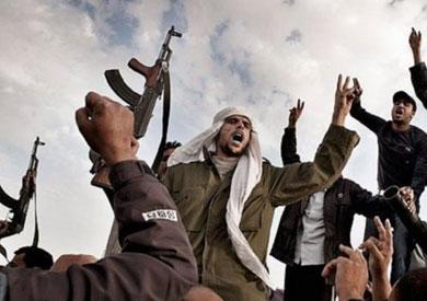انتشار عناصر مسلحة بليبيا
