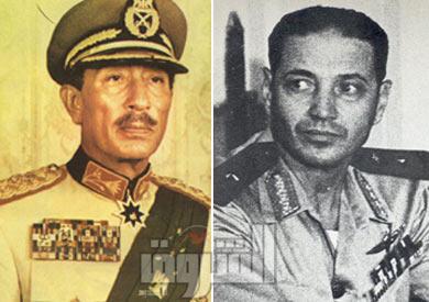 سعد الدين الشاذلي ومحمد أنور السادات