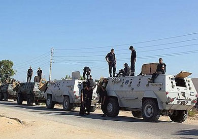 قوات الجيش والشرطة في سيناء - أرشيفية