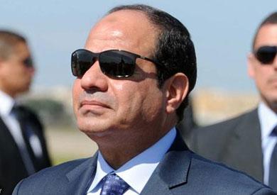 الرئيس عبد الفتاح السيسى رئيس الجمهورية