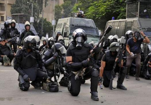 استنفار أمني في كفر الشيخ بعد دعوات مؤيدي مرسي للتظاهر – أرشيفية