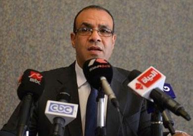 السفير بدر عبد العاطي المتحدث باسم وزارة الخارجية