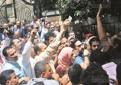 نقابةالصحفيين جمعية عمومية تصوير هبه خليفة