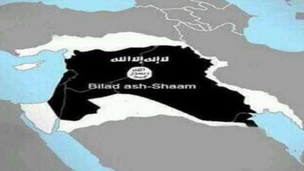 """خريطة """"داعش"""" التي نشرها التنظيم"""