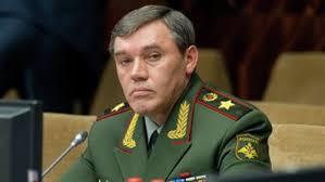 رئيس هيئة الأركان العامة في روسيا فاليري جيراسيموف