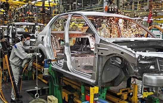 إنتاج مشترك للسيارات والآلات