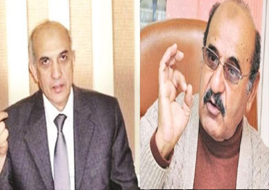 مجدى البسيونى مساعد وزير الداخلية السابق واللواء أبوبكر