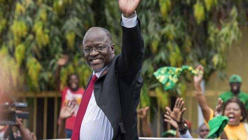 الرئيس التنزاني «جون بومبيه ماغوفولي»