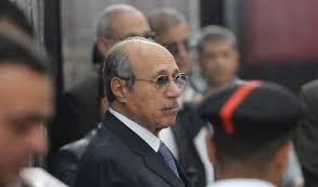 طعن وزير الداخلية الأسبق اللواء حبيب العادلي