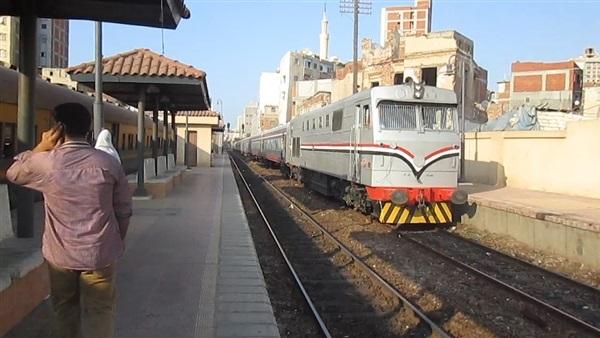 السكة الحديد: انتظام حركة القطارات على خطوط الوجه القبلي والبحري