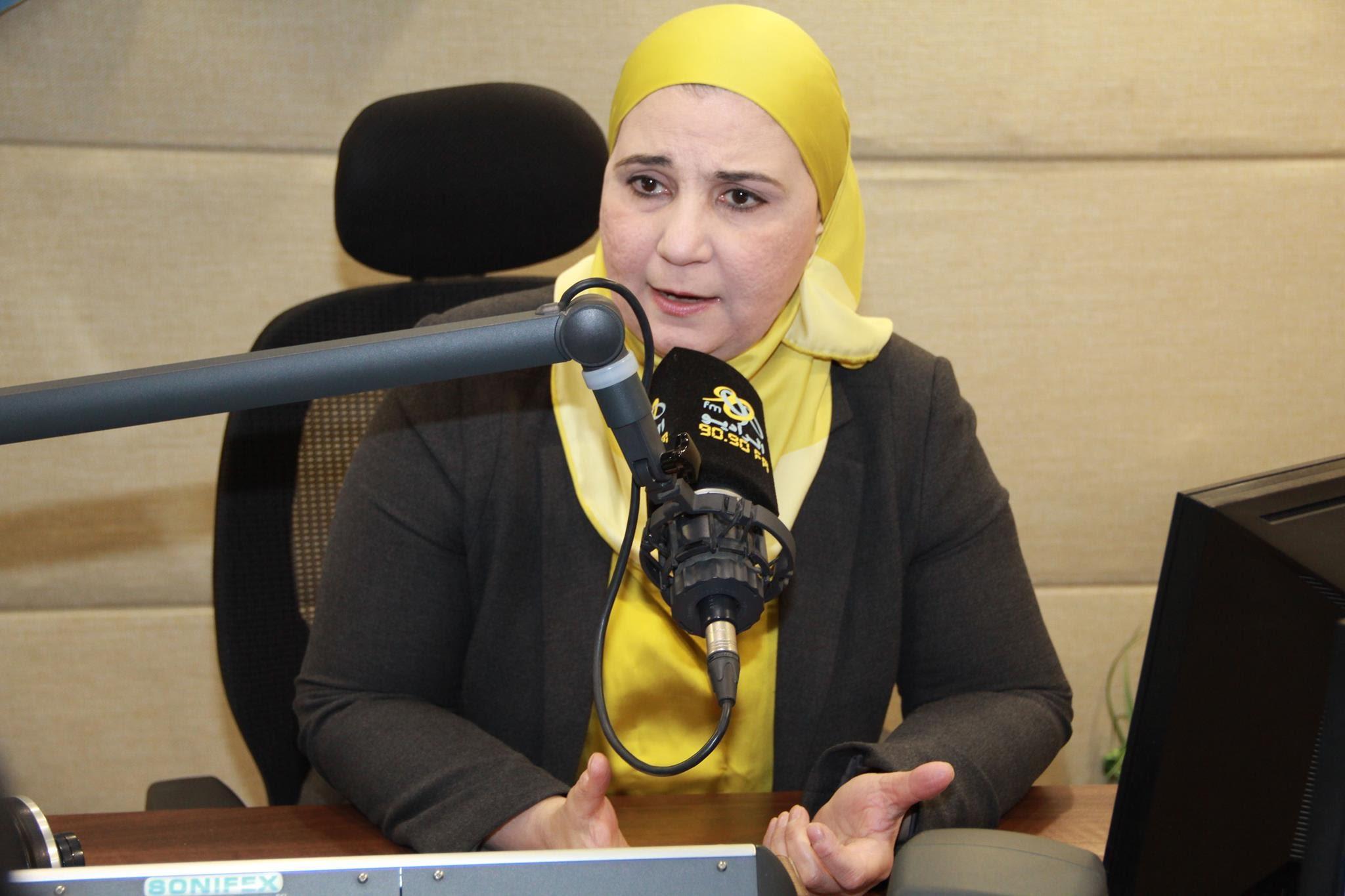 نيفين قباج مساعدة وزيرة التضامن الاجتماعي