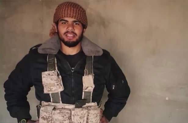 عمر الديب بطل فيديو «داعش» الأخير