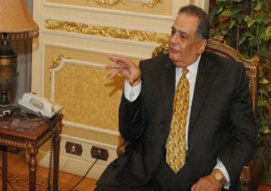 إبراهيم الهنيدى وزير العدالة الانتقالية