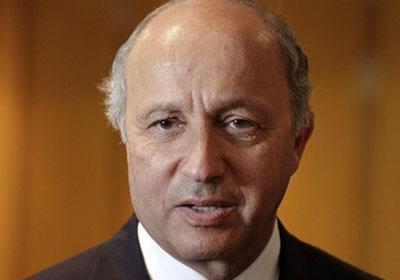 وزير الخارجية الفرنسي ـ لوران فابيوس