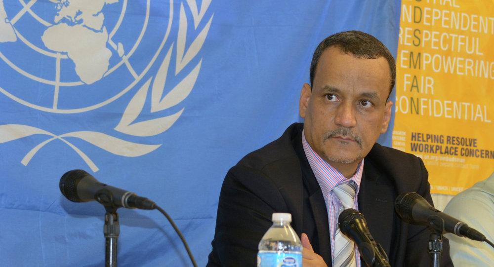 المبعوث الخاص السابق للأمم المتحدة لدى اليمن، إسماعيل ولد الشيخ أحمد