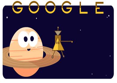 «جوجل» يحتفل بإنجاز مركبة «كاسيني» الفضائية