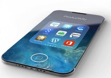 «آيفون 8» بشاشة قابلة للطى