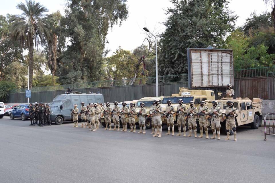 القوات المسلحة» تعاون «الداخلية» في تأمين احتفالات عيد الفطر المبارك
