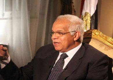 الدكتور جلال مصطفى سعيد محافظ القاهرة