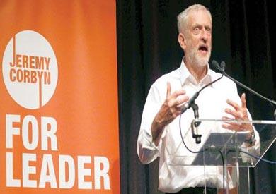 زعيم حزب العمال البريطاني جريمي كوربين