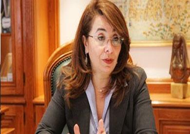 غادة والى - وزيرة التضامن الأجتماعى
