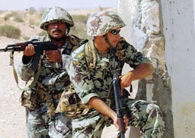 عمليات الجيش المسلحة في سيناء - أرشيفية