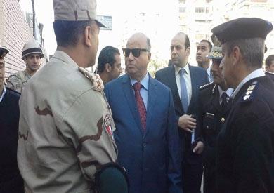 مدير أمن القاهرة يتفقد لجنة الجامعة العمالية بمدينة نصر