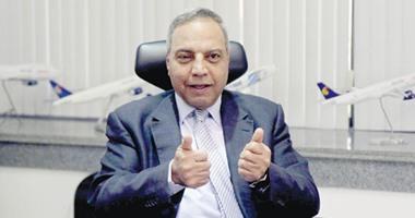 صفوت مسلم، رئيس مجلس إدارة الشركة القابضة لمصر للطيران