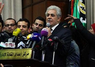 حازم عبد العظيم حملة صباحي يمكن أن تكون نواة جيدة لتشكيل «معارضة قوية» -
