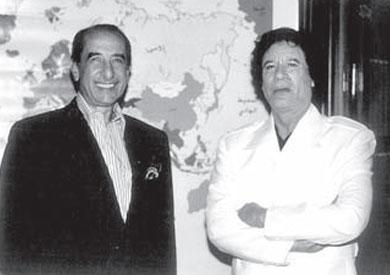 حمدي قنديل والقذافي